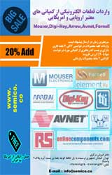 واردات قطعات الکترونیکی و مکانیکی از کمپانی های معتبر اروپایی و امریکایی