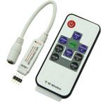 ریموت کنترل ال ای دی 12 آمپر آدامسی RGB -RF