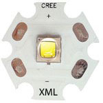 ال ای دی کری 10وات 6500کلوین سری XML2
